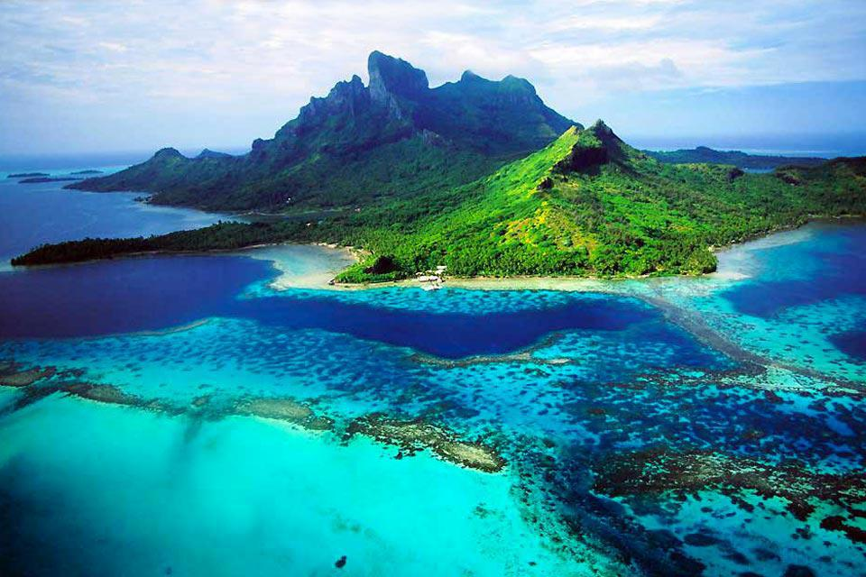 how to get to bora bora from uk