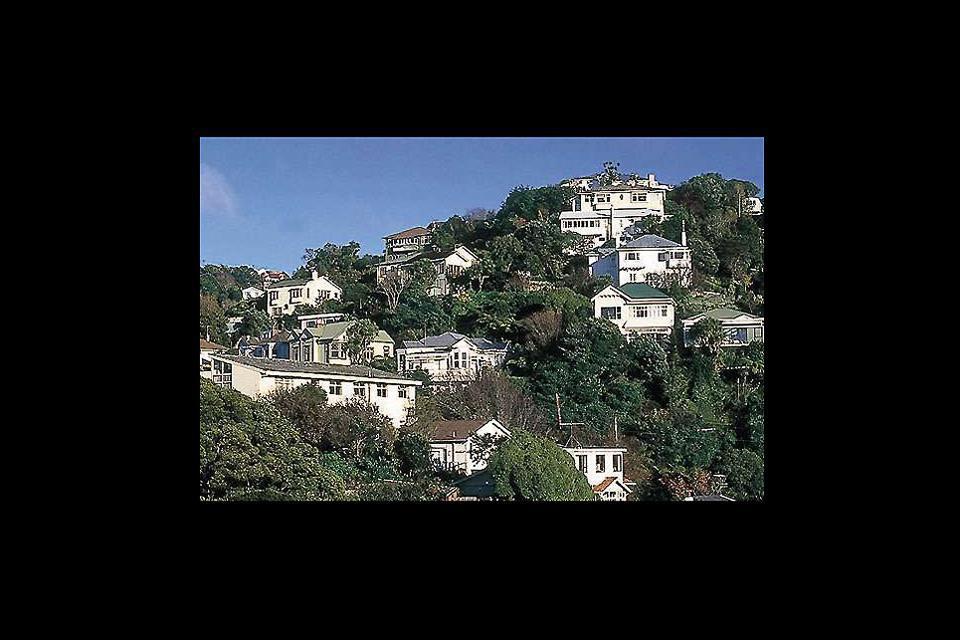 Die Stadt Wellington zählt zu den schönsten Reisezielen weltweit... Die in Hanglage errichteten Häuser und die engen, steilen Straßen sorgen ebenfalls für erstaunliche Motive.