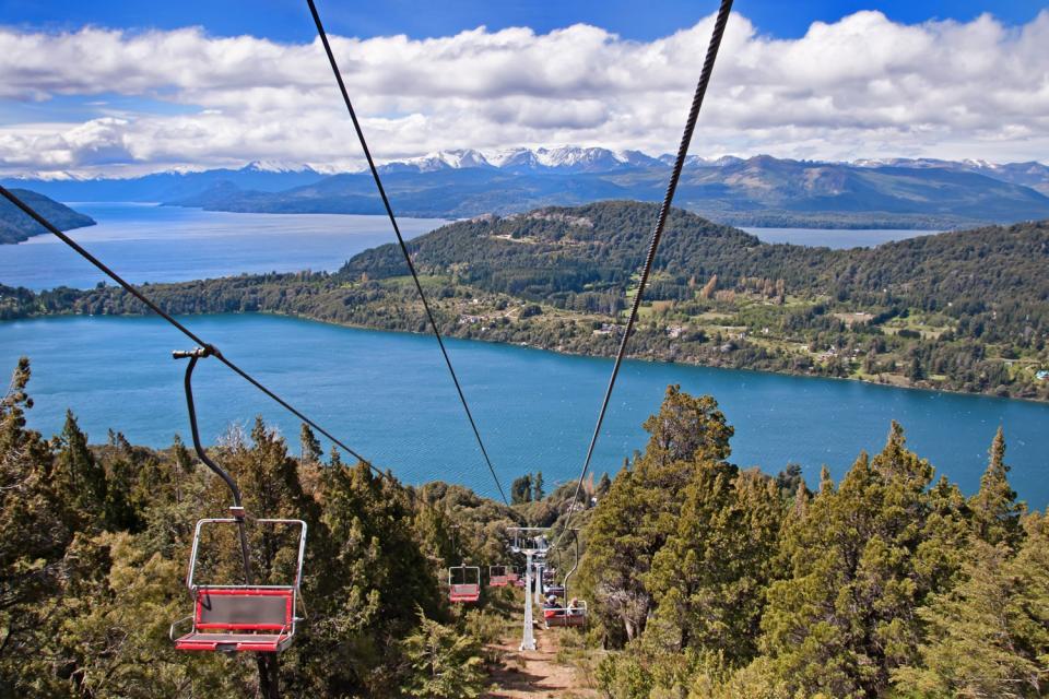 San Carlos de Bariloche se situe dans la province du Rio Negro, en Patagonie.