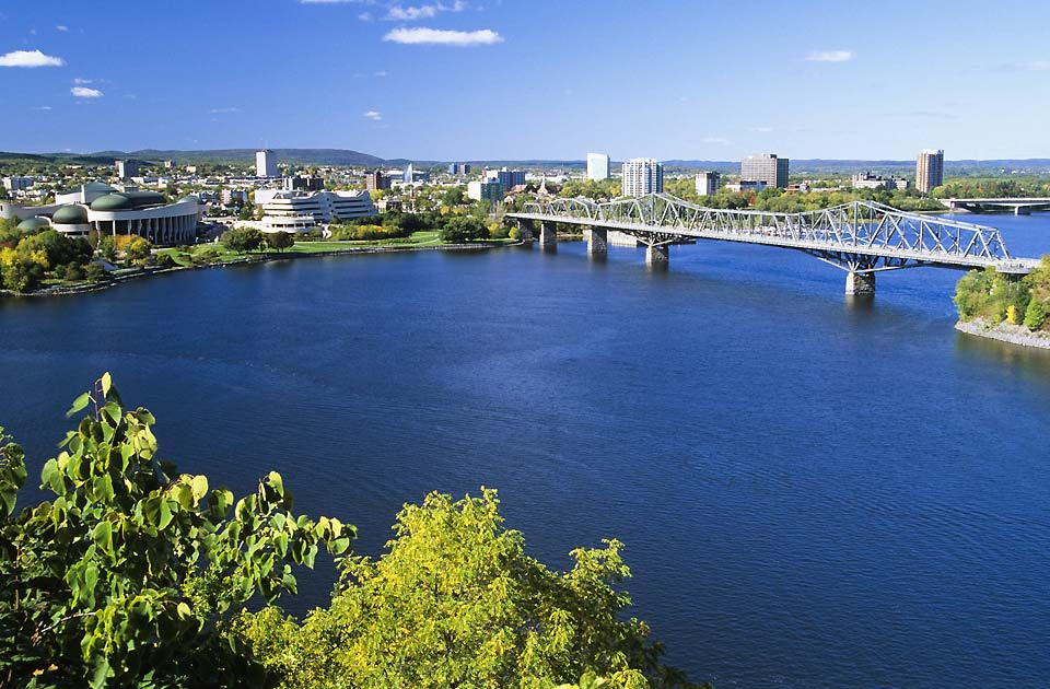 Located on the Ottawa River, Ottawa is the capital city of Canada.