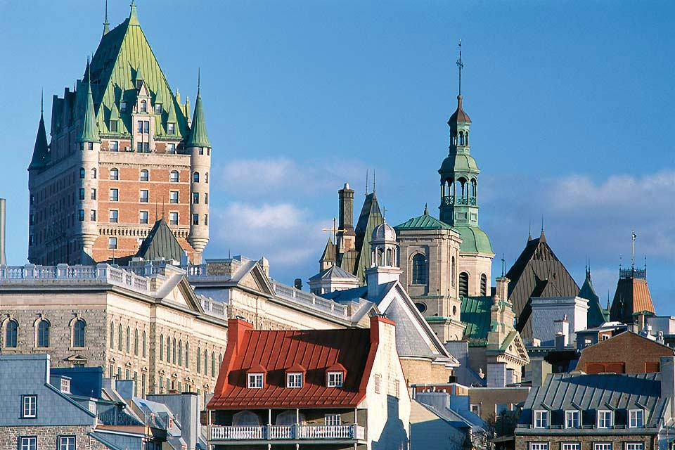 The cradle of French civilisation in North America, Quebec City is a UNESCO World Heritage site.