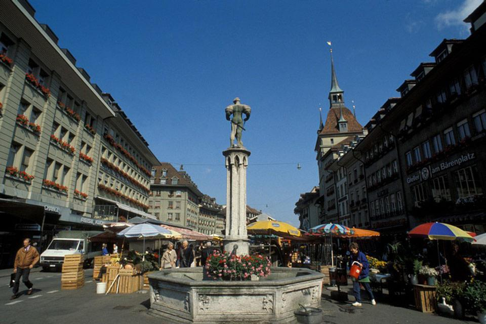 Bern is a friendly-sized city and perfect for discovering on foot.