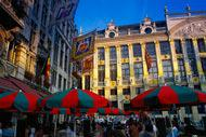 Classificata patrimonio mondiale dell'umanità, è la piazza centrale nella quale si trova il municipio.