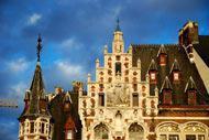 La capitale belga comprende numerosi edifici in stile Art Nouveau.