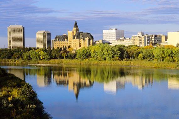 Saskatoon (Saskatchewan) : Saskatoon, dans la province de Saskatchewan - Canada