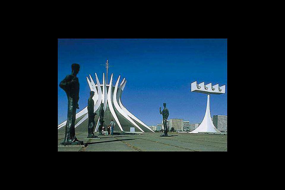 Brasilia è una delle città più moderne del mondo grazie ai suoi numerosi monumenti d'avanguardia.