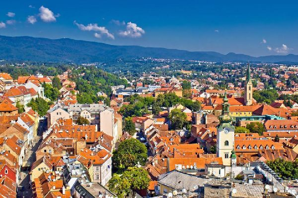 Located between the Save river and mount Medvednica (3,395 feet), Zagreb is the city of blue trams that slide through imposing buildings reminding you of Vienna or Budapest. There are, in fact, three Zagreb cities: the upper town