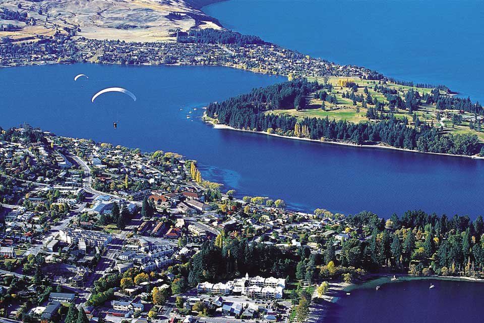 It is possible to go skydiving and admire the magnificent landscapes around the city from the sky here.