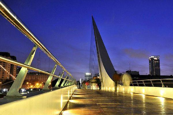 L'unique oeuvre de l'architecte espagnol Santiago Calatrava en Amérique du Sud.