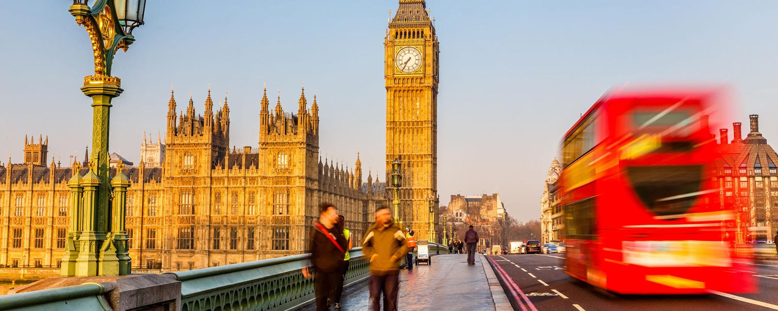 Week-end Londres : vol htel avec m