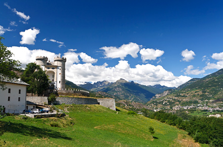 Tour dei castelli in Valle d'Aosta