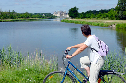 FRANCE. Cycling, Loire Valley.