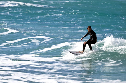 ENGLAND. Surfing, Newquay.