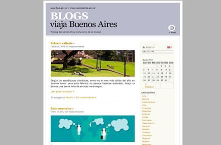 Gira alrededor del mundo de los blogs
