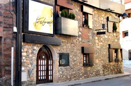 En Can Fabes, el restaurante del competidor de Ferran Adrià