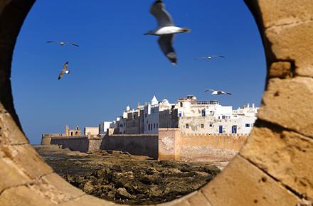 Essaouira, where sea meets desert, Morocco