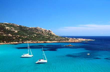 Sparkling chic in Corsica, France
