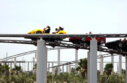 Die schnellste Achterbahn der Welt: Ferrari World - Abu Dhabi