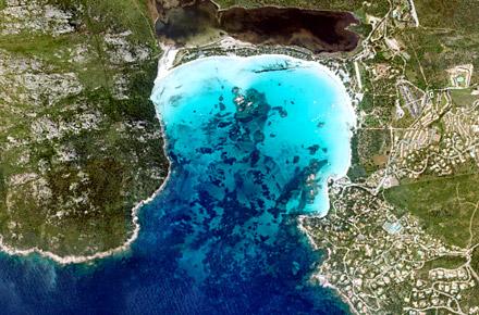 Corsica: spiaggia di Santa Giulia