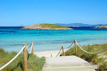 Formentera: spiaggia di Ses Illetes