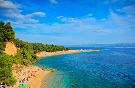 Croazia: Zlatni Rat Beach