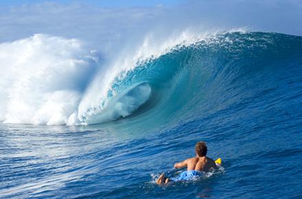 Surfea como un profesional en Teahupoo