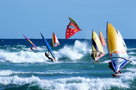Windsurf en Canarias