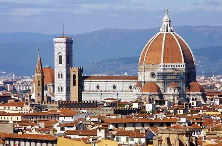 Romantisches Wochenende in Florenz