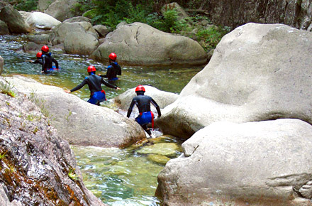 Canyoning in Corsica o nelle Antille