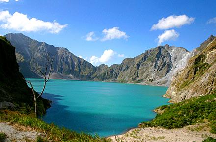 Un cratere in Colombia, nelle Filippine o in Islanda