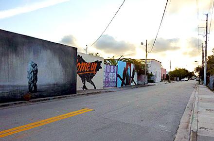 Le immense gallerie all'aperto di Miami