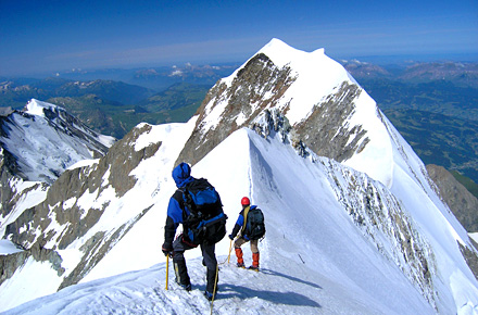 The legendary peaks: Mont Blanc and Pic de Midi