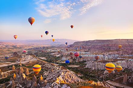 Natale in Turchia, alla scoperta della Cappadocia a 447€