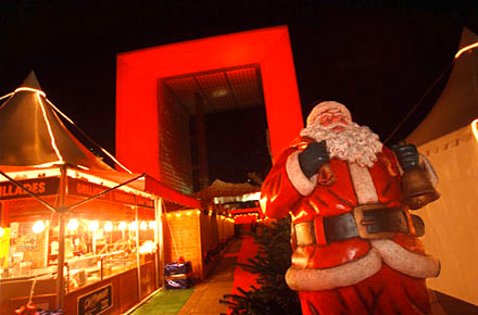 La Défense, le salon de Noël
