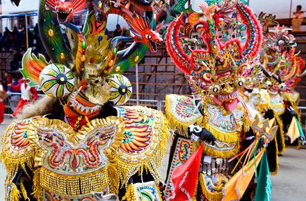 Bolivia: il Carnevale dedicato al diavolo