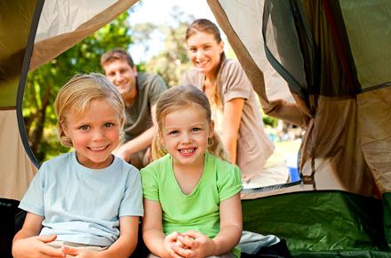 Campeggi per famiglie e bambini