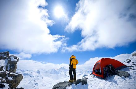 Campeggio in montagna: in cima!