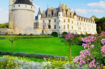 Il giardino alla <em>française</em> di Chenonceau
