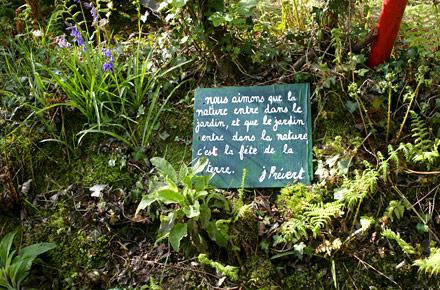 Jaques Prévert e il giardino di Omonville-la-petite