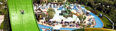 Vacances en hôtel-club, parc aquatique inclus!