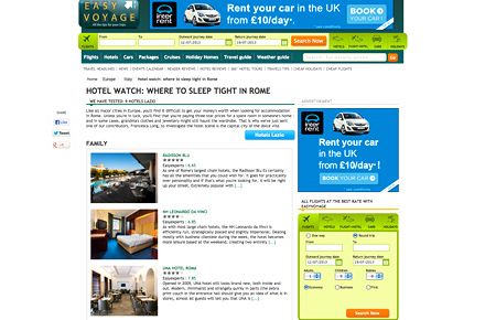 Read up about your hotel first