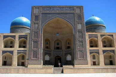 Etapa en Uzbequistan