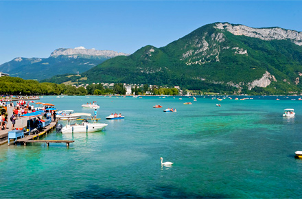 Hidden depths top 10 wild swimming spots for Lake annecy hotels swimming pool