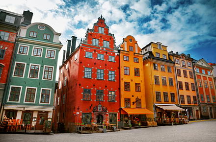Stockholm - das kreative, bunte Bullerbü