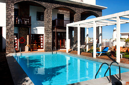 Hotel la palma rom ntica en barlovento diez hoteles for Hoteles bonitos madrid