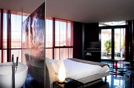 hotel les bains douche en toulouse diez hoteles bonitos y baratos en europa. Black Bedroom Furniture Sets. Home Design Ideas