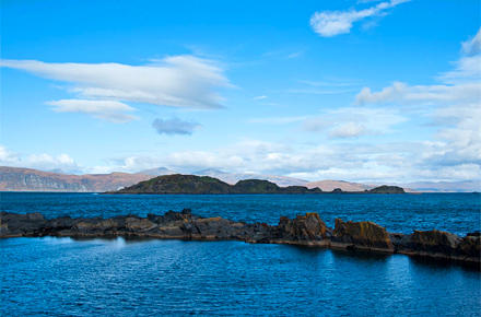 At one with nature in Easdale, Scotland