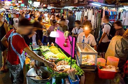 [48H] - Sera - Night market a Khaosan Road