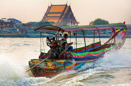 [72H] - Mattina - Lungo il Chao Phraya