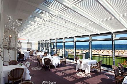 Speisen mit Meeresblick: Das La Belle Epoque in Travemünde